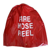 UV red fire hose reel