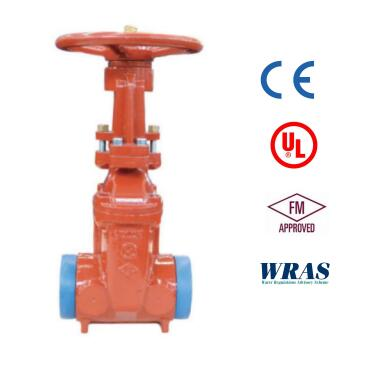 UL FM WRAS CE  OS&Y GROOVE GATE VALVE